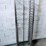 Estante de inox para cozinha industrial