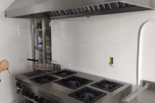 Coifa industrial em aço inox